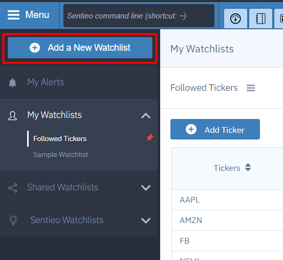 add watchlist